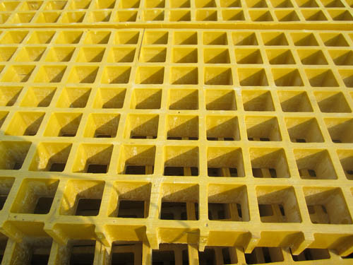 PVC coated steel grating