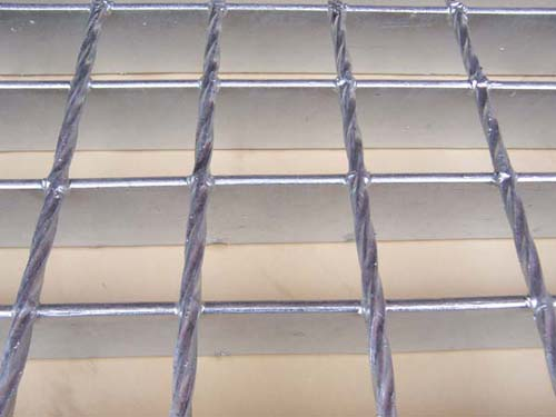 Stainless steel grid plate